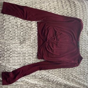 Forever 21 twisted front crop too